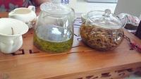 ネイルと中国茶