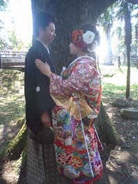 婚礼シーズン