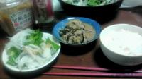 今日の夜ご飯