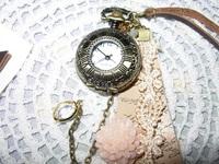 """時計に~❤""""雑貨屋さんにて"""""""