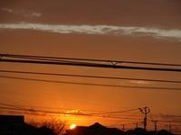 綺麗だったので~「朝日☀」