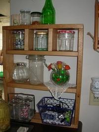 キッチンカウンター上の整理