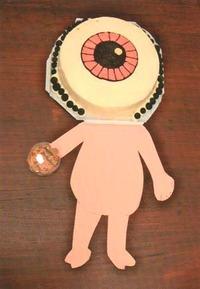 目玉のおやじのケーキ