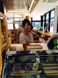 cafe kiitos ♡新富町総合交流センター