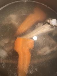 鹿の骨スープ