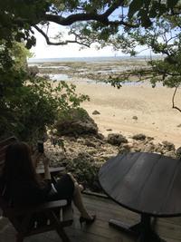 浜辺の茶屋