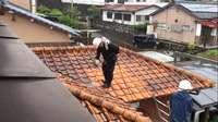 屋根をキレイに
