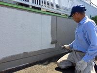 塀塗装 宮崎市K様邸