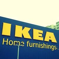 今からIKEAに入ります!