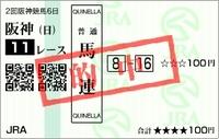 2011 春のGI第2戦 桜花賞反省会(馬連6.2倍的中)