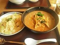 「中華啤酒館jan」で ゴマの風味たっぷりの担々麺