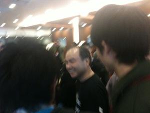 ソフトバンクの30周年記念パーティに行ってきた。