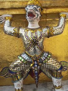タイ王朝をあるく。
