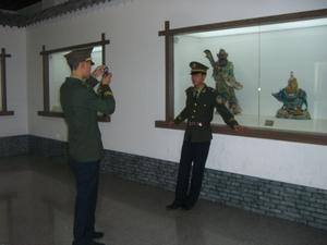 博物館での一コマ