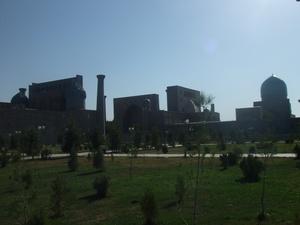 シルクロード、ウズベキスタンの旅2