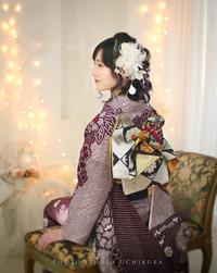 スタジオ内倉 成人式 PHOTO さやかさま