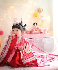 桃の節句PHOTO☆りおなちゃん☆
