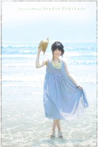 フリーペーパー雑誌Kirei・9月号の表紙撮影  ぼく