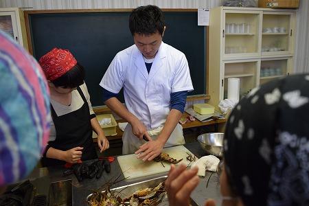 鵜戸を楽しむ第8弾 「ずし」料理教室