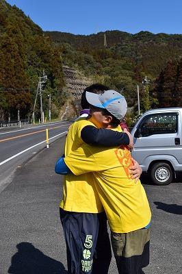 東日本大震災から4年「絆リレーマラソン」