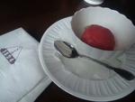 苺のソルベ