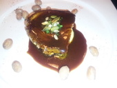 イベリコ豚のロースト スイートマデラソース