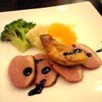 鴨肉とフォアグラのソテー