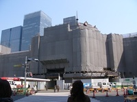 東京駅工事中!