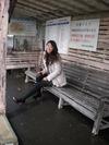 嘉例川駅で撮影会
