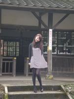 大畑駅で撮影会