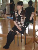 7月絵画教室のモデル