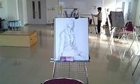 絵画教室のモデル