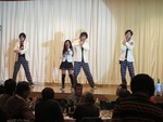 SAKI with UPjrが新年会で披露!