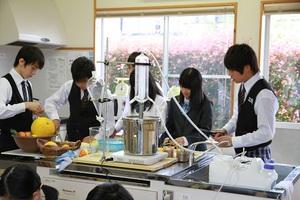 北郷中学校で香育開催!