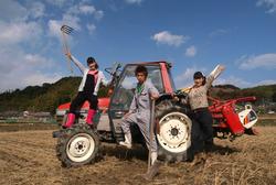 農業革命始めます!