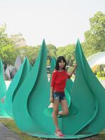 文化公園で撮影会