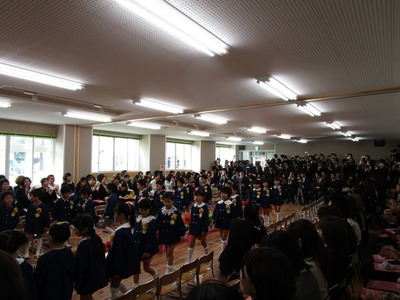 平成26年度 卒園式