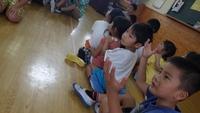 東小学校 1年生 来園